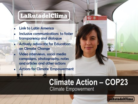 Action COP23 ENDORSE INITIATIVE